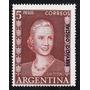 Argentina, Sello 5 Pesos Eva Perón - Mello Nº So374 - Mint