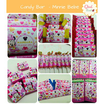 Golosinas Personalizadas - Candy Bar Minnie