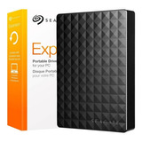 Disco Externo 2tb Seagate Expansion Ultra Slim Usb 2.0 3.0