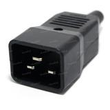 Conector Ficha Ups 16a C20 Macho Para Cable China