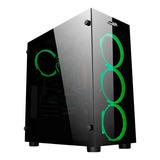 Gabinete Pc Gamer Sentey K20 Fan Rgb Vidrio Templado