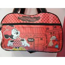 Bolso Minnie Grande Natacion Picnic Mama Bebe Disney Mickey