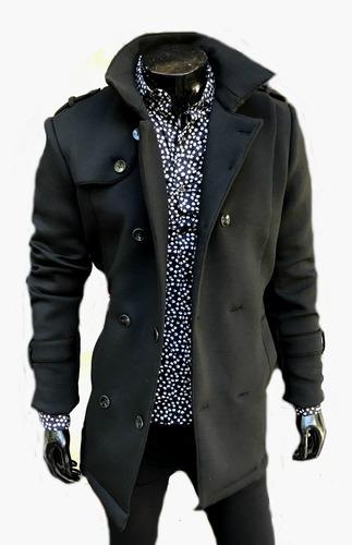 Saco de abrigo hombre
