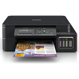 Impresora A Color Multifunción Brother Dcp-t5 Series Dcp-t510w Con Wifi 220v Negra