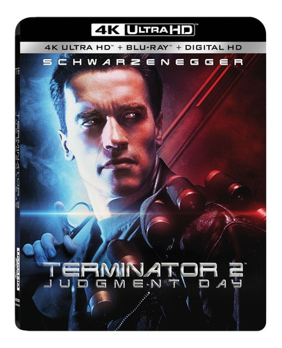 4k Ultra Hd + Blu-ray Terminator 2 Judgment Day