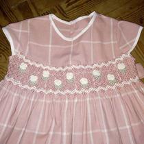 Vestido Nena Con Punto Smock