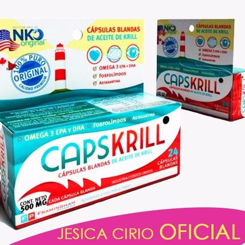 Capskrill Aceite D Krill Omega 3 Jesica Cirio Fitness Ofic.