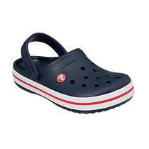Zuecos Crocs Crocband Navy Azul