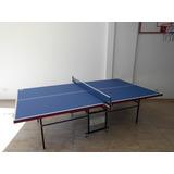 Ping Pong Mesa Tissus Luxor Con Accesorios De Regalo