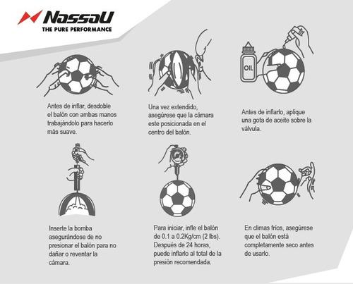 cffb161b3396c Pelota Futbol Nassau Pro Championship Profesional Cosida N°5. Precio     1705 Ver en MercadoLibre
