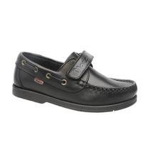 Zapatos Marcel Nautico Con Abrojo Colegial