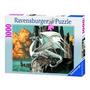 Ravensburger -15696 X 1000 Dragón-ciruelo 50x70 Cm