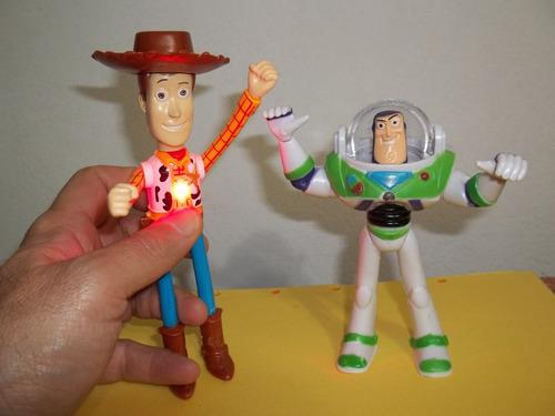 ff7d24766c9b9 Toy Story Woody + Buzz Con Luz Muñeco Grande Muy Bueno