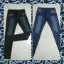 Calzas Simil Jeans, Talles Del 36 Al 50 Azul O Negra.