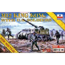 Esci 8605 M12 King Kong With U.s. Soldiers Escala 1/72