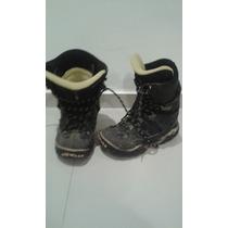 Botas Snowboard Thinsulite Usadas- 40/41