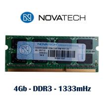 Memoria 4gb Ddr3 1333 Mhz Novatech Original Garantía X Vida