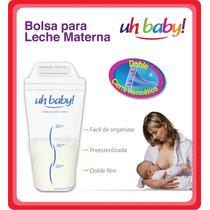Bolsas Almacenar Leche Materna Uhbaby! X 50 Bolsas Promo