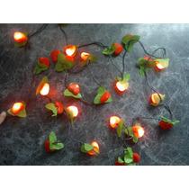 Luces Navideñas Corazones Para Arbol O La Casa 8 Posiciones!