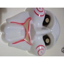 Mascara Juegos Del Miedo Plastica Fuerte Terror Fiestas Joda