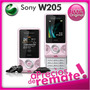 Sony W205 Libre Negro Nuevo