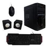 Gabinete Kit Sfx 543 Black Plus V2.0 Sfx-sc543a Atx Fuente