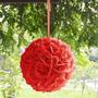 Flores Pompones Esferas De Tela Para Decorar