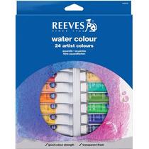 Set Acuarelas Reeves X24u. Pomos