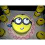 Torta Artesanal Mi Villano Favorito Minions