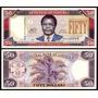 Liberia Billete De 50 Dolares Año 2011 Sin Circular
