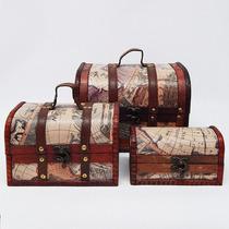 Cajas Baúles Set X3 Bj509 Oriental Indonesia Hindú