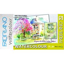Papel Para Acuarela Fabriano Watercolour Block 25x35 Cotton
