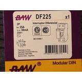 Disyuntor Diferencial Baw 2 X 25a X 30ma