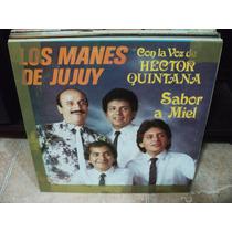 Disco Vinilo Los Manes De Jujuy Sabor A Miel Lp Nuevo