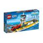 Lego City Ferry Barco Con Auto Original
