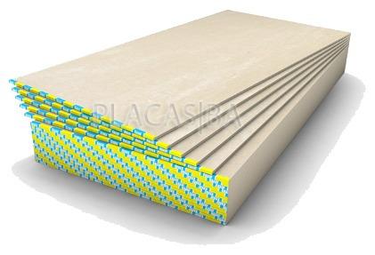 Placa de yeso knauf std x fujca for Placas de escayola 60x60 precio