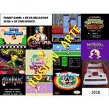Programas Para Pc- 10.000 Juegos Family+ 3500 Sega- Via Mail