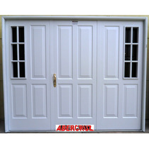 Porton Garage Chapa Abrir 3 Hojas Reforzado 240x200 Tc-009