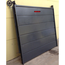 Portón Levadizo Garage Robusto Chapa Calibre 18+14 Envio Tc4