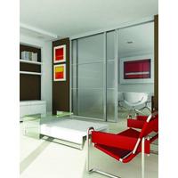 Divisor Ambiente (no Durlock) Corredizo Aluminio Vidrio