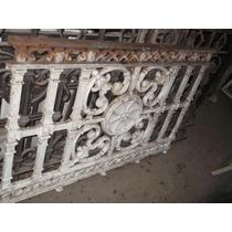 Balcon Antiguo De Hierro Forjado Muy Bueno