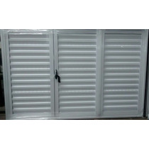 Postigon De Aluminio Blanco 150x110 De Abrir En 3 Hojas