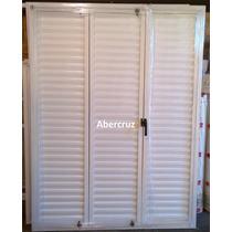 Postigon De Abrir Aluminio Blanco Para Ventana 150x200