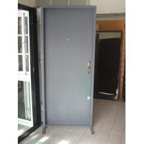 Puerta Ciega De Máxima Seguridad. 80x200 Hecha En Chapa 18