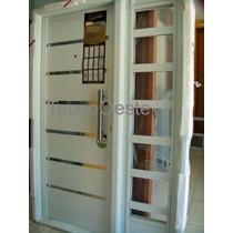 Portada Nexo Pintada E-poxy Blanca Apliques Puerta 1 Lateral