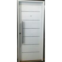 Puerta Exterior Pavir Imperia Blanca 80x200 Calidad Premium