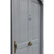 Puerta De Chapa Inyectada Premium 4 Tableros Aberturas Leo
