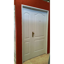 Puerta residencial blanca multipanel tipo home depot for Puerta home depot