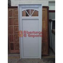 Puerta Aluminioblanco Pesada 3 Rayos 1/4 Punto