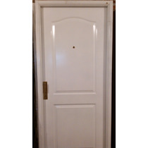 Puerta Doble Chapa Inyectada 2 Tableros Ciega Marco Ch 18